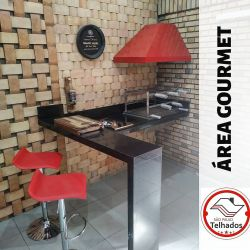 Braseiro cooktop, coifa red, grill master premium